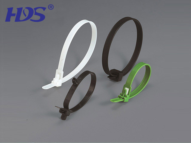 Movable nylon cable ties